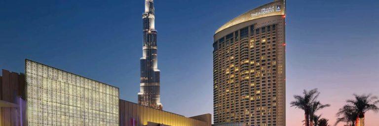 Address Dubai Mall © Address Hotels + Resorts